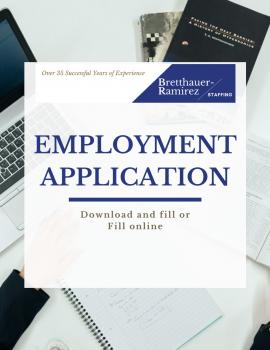 employment application (1)